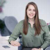 Emelie Lennartsson, on parental leave